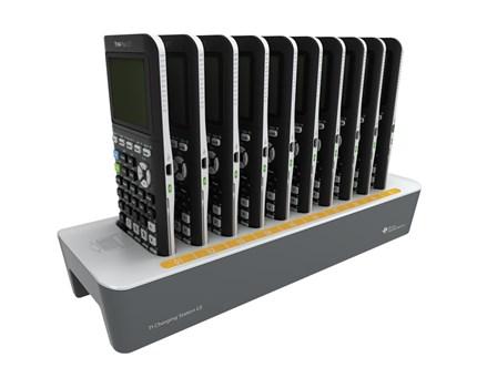 TI-84 Plus CE-T,     Laddstation