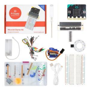 Micro:bit, Startbyggsats, med BBC micro:bit kort, Pi Supply