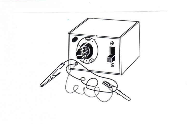 Minivoltmeter, byggsats st