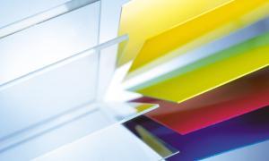 Akrylplast transparant,   245x495x3 mm