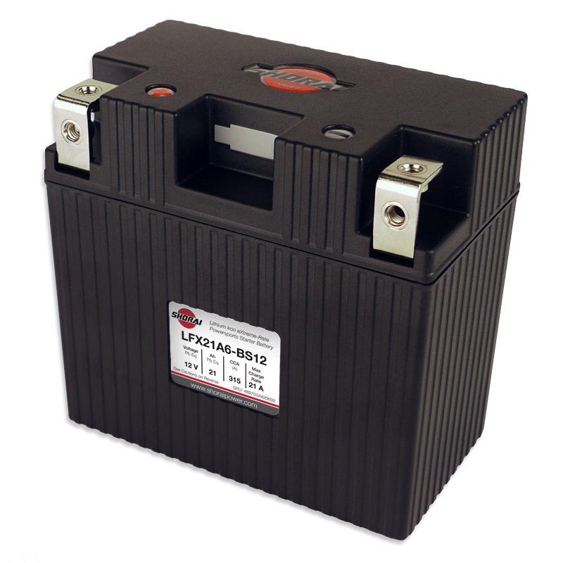 Shorai ultra light starter battery 21A6