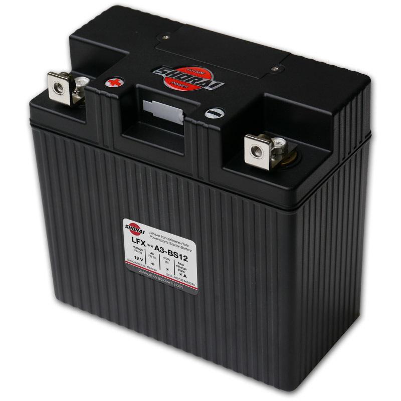 Shorai ultra light starter battery 24A3