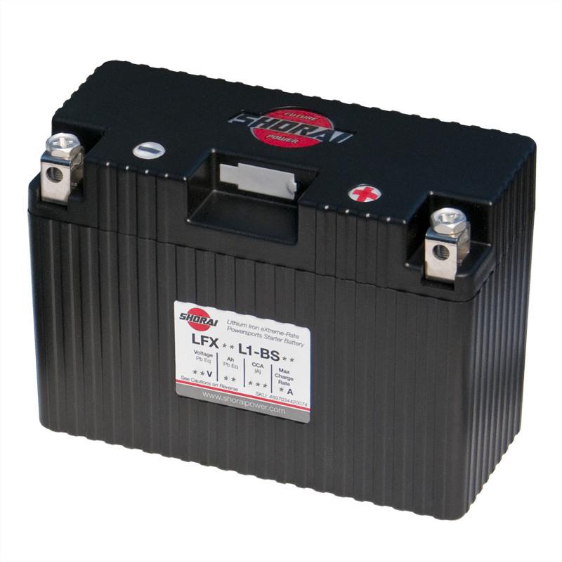 Shorai ultra light starter battery 18L1