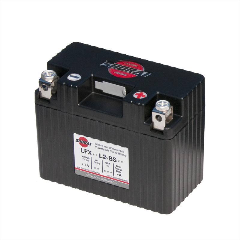 Shorai ultra light starter battery 09L2