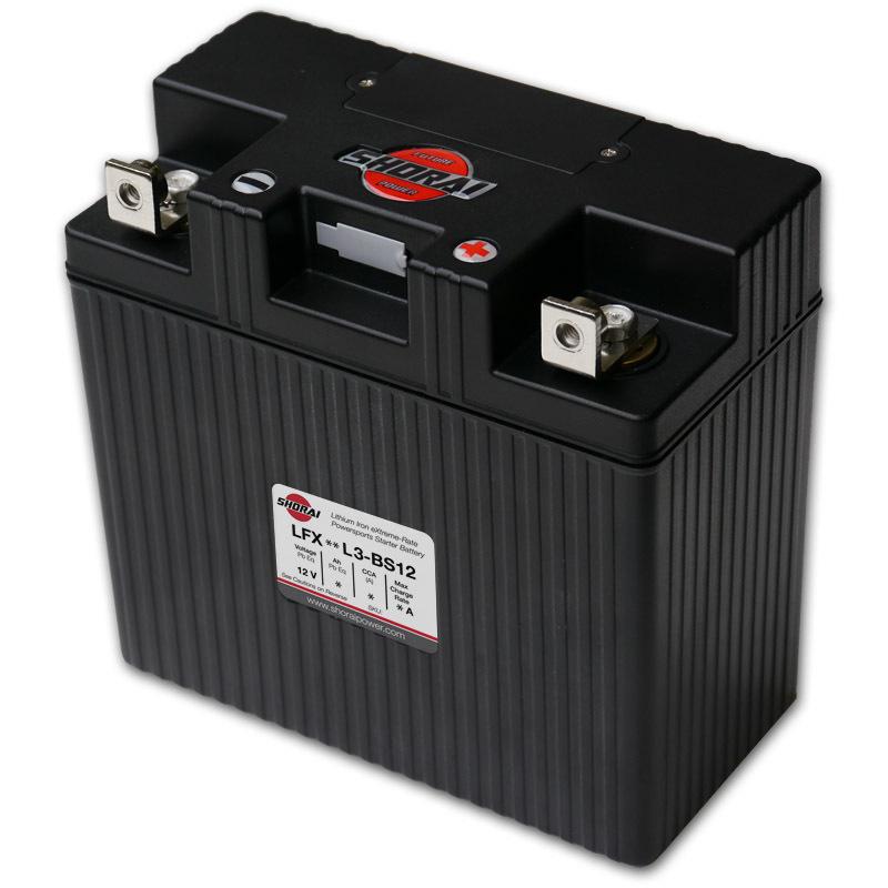 Shorai ultra light starter battery 24L3