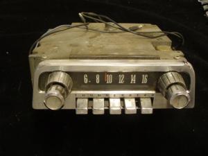 1963 Thunderbird radio