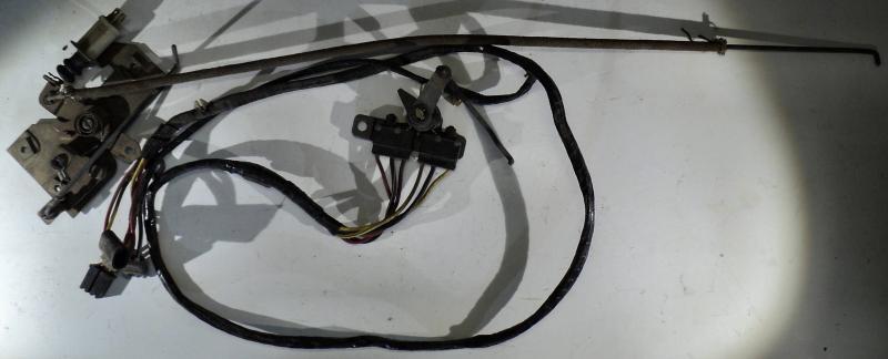 1969 Ford Galaxie hgv elektriska delar till bakluckan