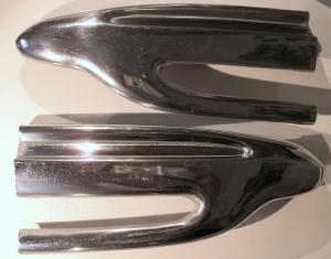1956  Chrysler NewYorker     krom spets framskärm        höger och vänster