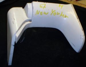 1967 Chrysler New Yorker skärmförlängare höger fram