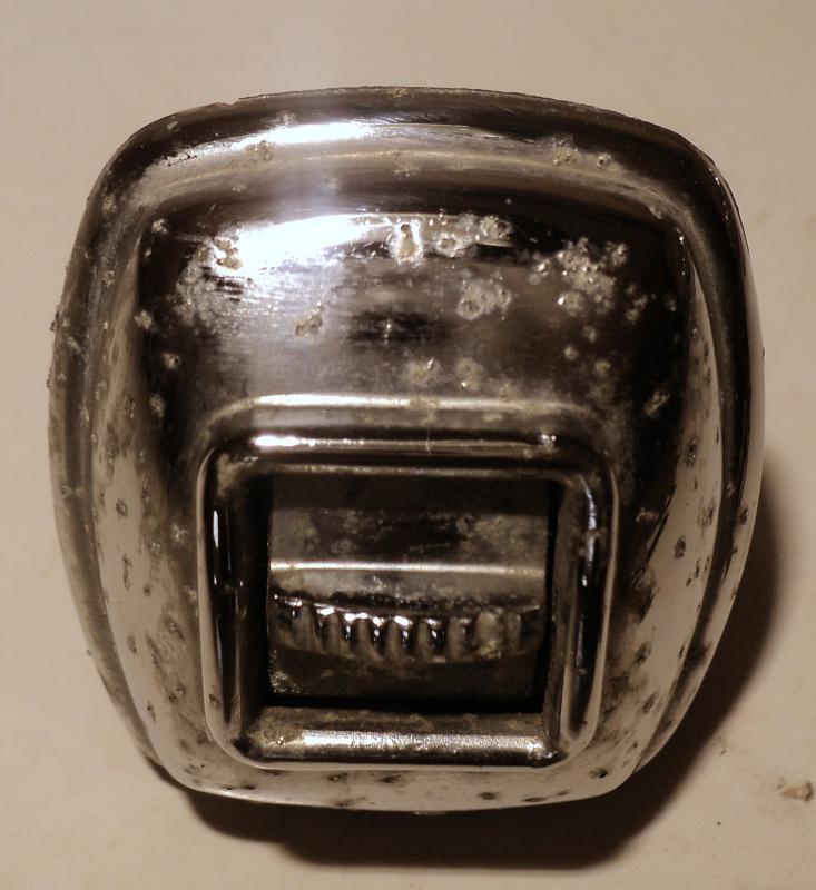 1956  Chrysler     knapp till elhiss (porigt krom)