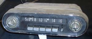 1957 DeSoto radio