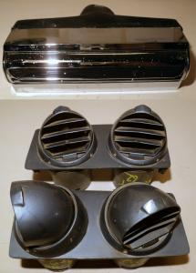 1962  Chrysler NewYorker    AC luftutblås