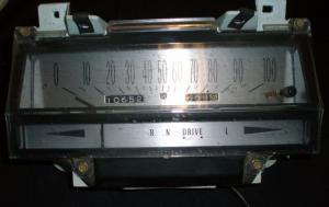 1974 Cadillac Eldorado hastighetsmätare