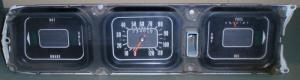 1969 Oldsmobile 98 instrumenthus
