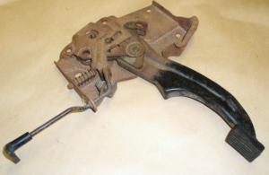 1972 Mustang handbroms mekanism