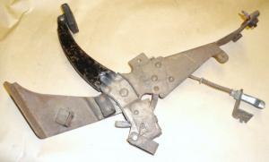 1958 Edsel handbroms mekanism