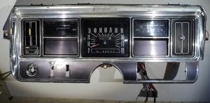 1968 Buick Le Sabre instrumenthus