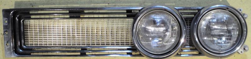 1967  Chrysler Newport   grillhalva med sargar   vänster