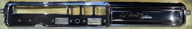 1966 Pontiac Catalina  krom instrumentbrädan. Obs  Endast hämtning!