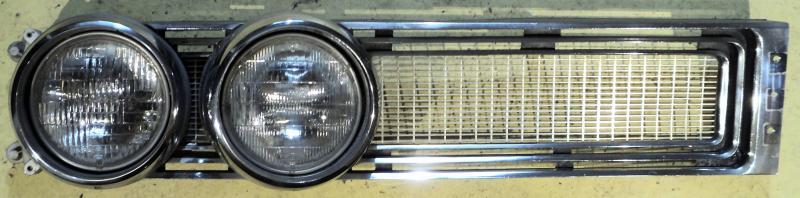 1967  Chrysler Newport   grillhalva med sargar   höger