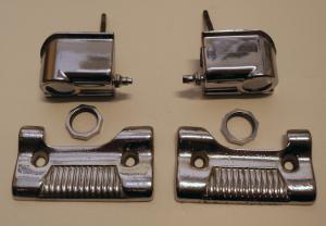 1957 Lincoln     krom och spolarmunstycke (par)