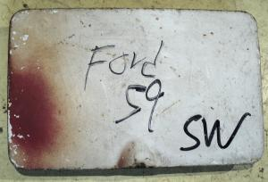 1959 Ford    SW   Hgv     tanklockslucka