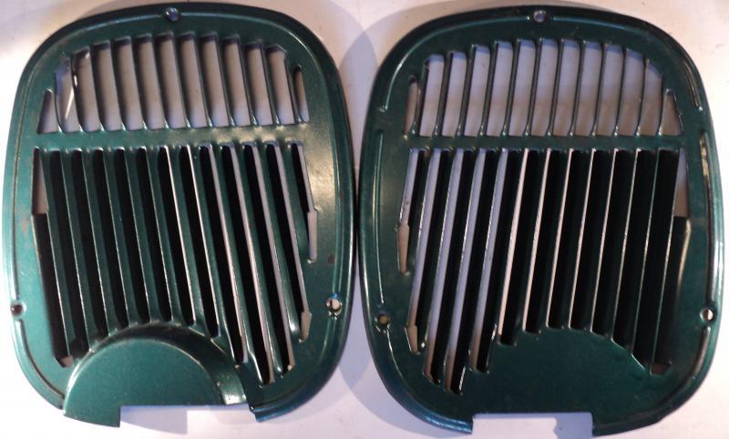 1961   Oldsmobile 98    friskluftgaller höger och vänster
