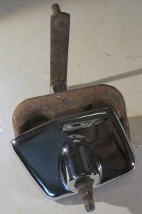 1956  Chrysler  torkaraxel med krom höger