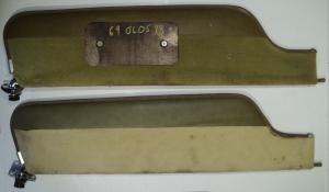 1969   Oldsmobile 98        solskydd (par)
