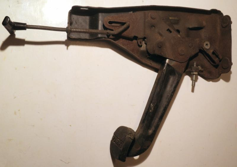 1970   Pontiac LeMans     handbroms mekanism