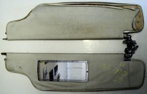1963   Oldsmobile 98        solskydd (par)