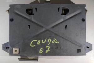 1967 Mercury Cougar  skylthållare bak