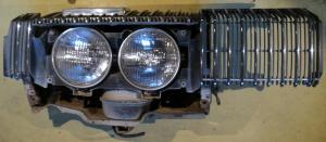 1967 Mercury Cougar    XR7 grill enhet höger