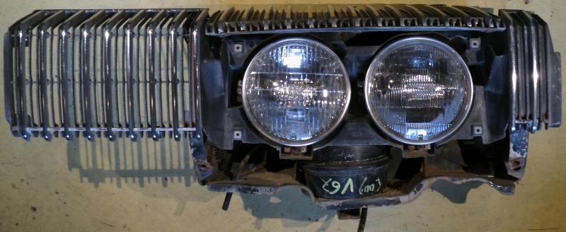 1967 Mercury Cougar    XR7 grill enhet vänster
