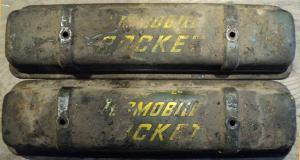 1956   Oldsmobile     ventilkåpor par