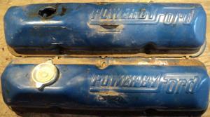 1968 Ford    390   ventilkåpor par  (power by Ford)