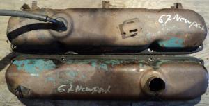 1967  Chrysler Newport   383   ventilkåpor par