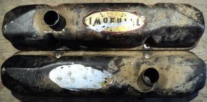 1960  Chrysler Imperial   413   ventilkåpor par