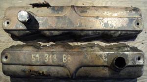 1959  Plymouth   318 BB   ventilkåpor par