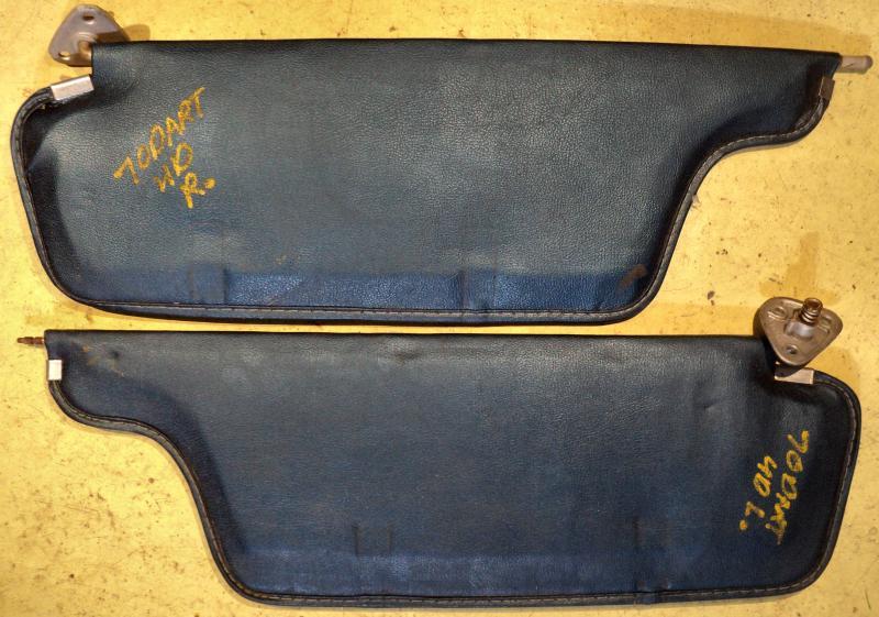 1970  Dodge Dart    solskydd (par)