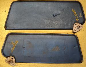 1972  Dodge Dart    solskydd (par)