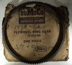 1949 1950 1951 1952 1953 Ford      ny kuggkrans svänghjul manuell låda
