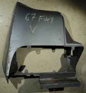 1967  Plymouth Fury            skärmförlängare vänster bak