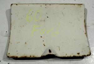 1960 Ford Fairlane           tanklockslucka