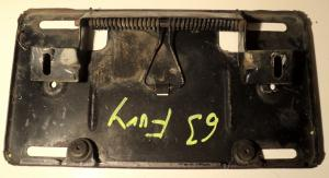 1963  Plymouth Fury      tanklockslucka