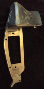 1968 Mercury Montery skärmförlängare fram höger