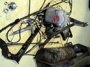 1959  Chrysler Imperial     farthållare (cruise control) delar        (ej testad)
