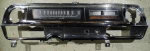 1963   Cadillac    instrumenthus hastighetsmätare   temp, tank mätare