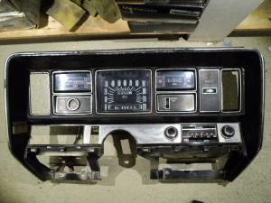 1970   Buick Electra    instrument housing speedometer, water temp, fuel gauge, gear indicator