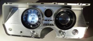 1964   Buick Electra    hastighetsmätare, tankmätare, växelindikator      tändningslås (utan nyckel)